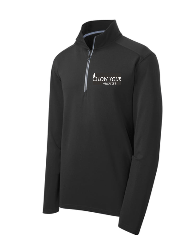 Blow Your Whistle 1/4 Zip Performance Pullover