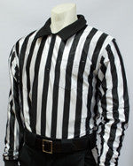 "Football and Lacrosse Officials 1"" Stripe Hybrid Cold Weather Shirt"