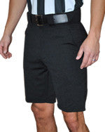 "Smittys Solid Black Shorts - Slash Front Pockets - 9"" Inseam"