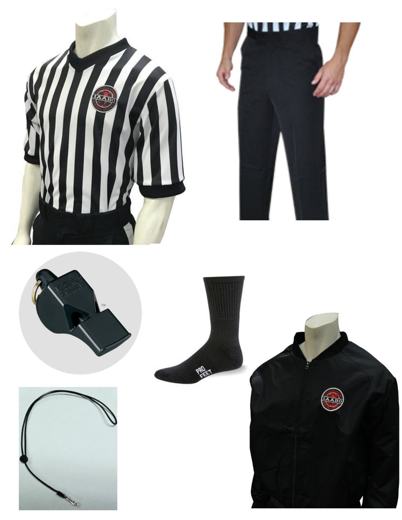 IAABO BASKETBALL W/JACKET STARTER PACKAGE