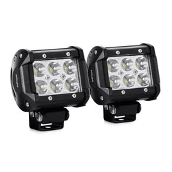 Pair of Nilight 18W 1260lm LED (Spot)