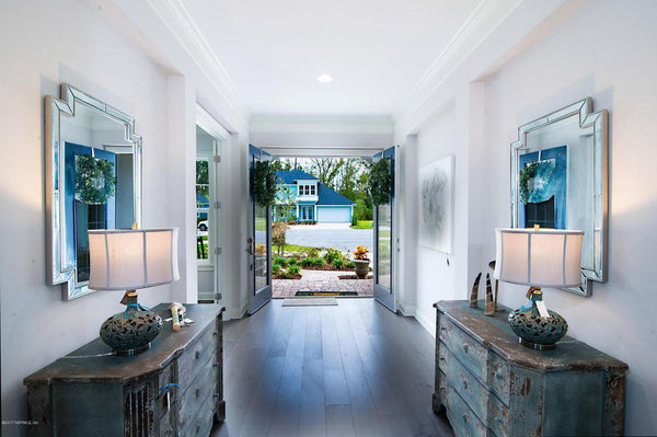 Luxury Ponte Vedra Beach Home Staging - Before and After