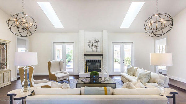 Contemporary Farmhouse Estate - Home Staging - Before and After by Luxury for Less