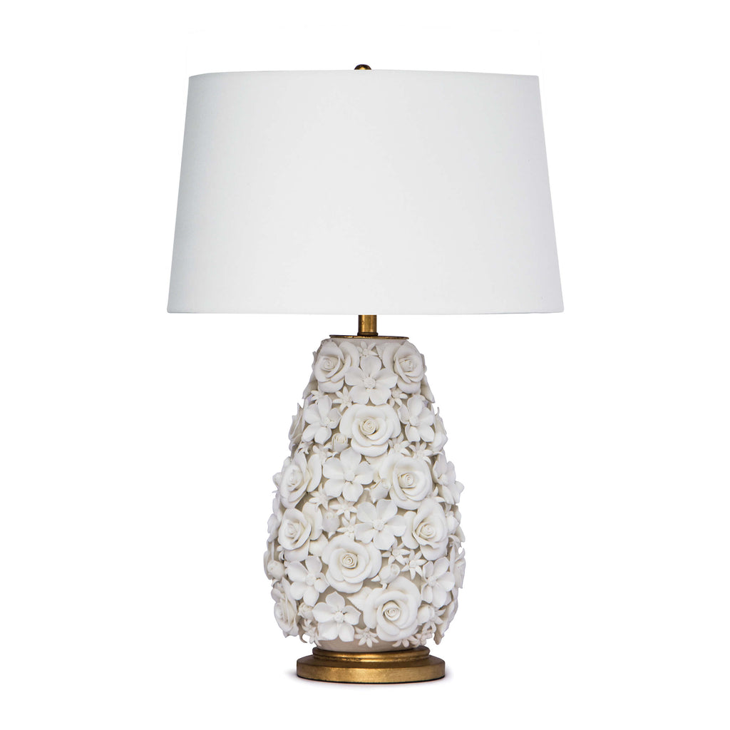 Alice Porcelain Flower Table Lamp by Regina Andrew