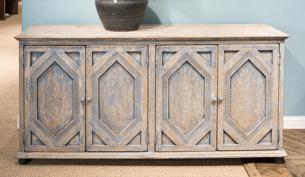 Four Diamonds Sideboard by Sarreid