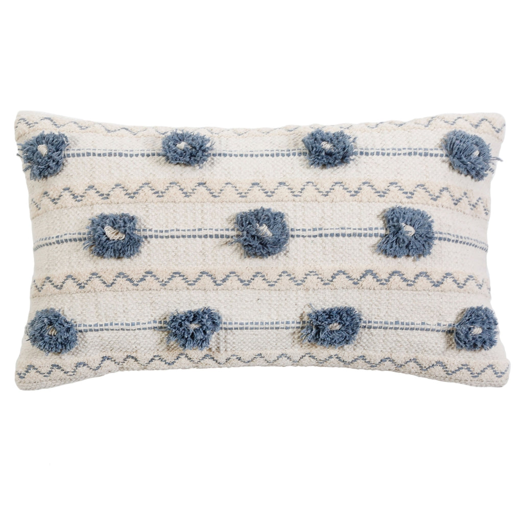 IZZY Pillow by PomPom at Home Handwoven With Insert