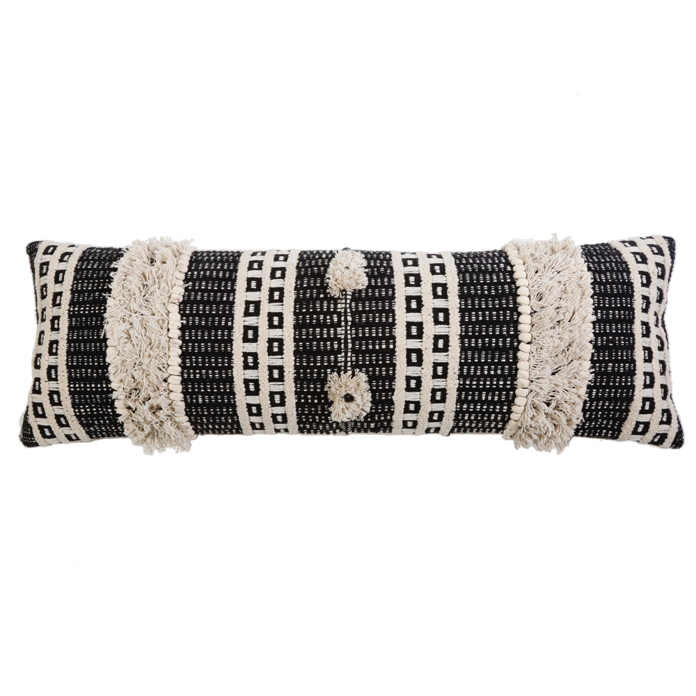 SAWYER Handwoven Pillow With Insert by PomPom at Home 14