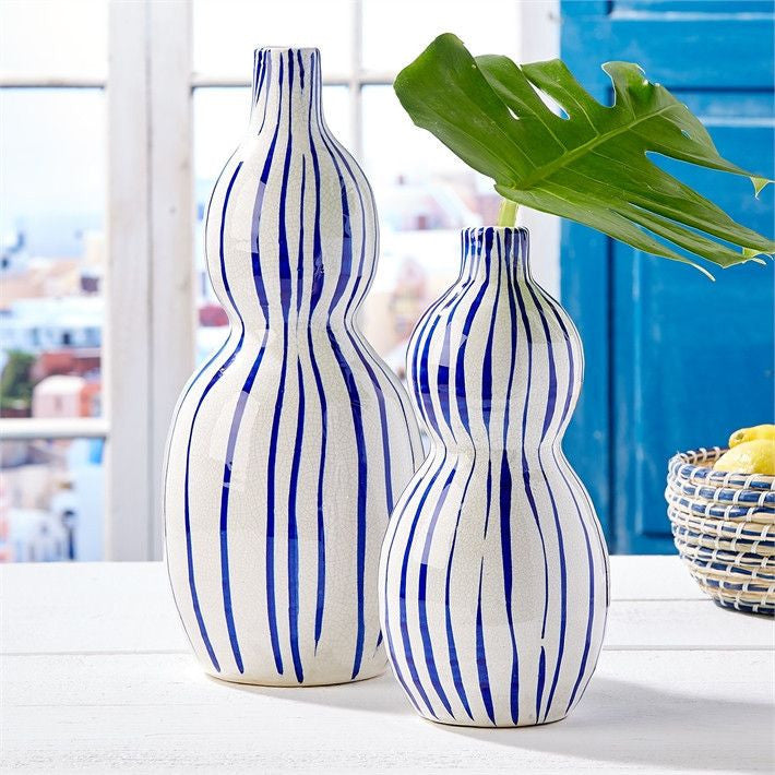 Santorini Bubble Vases Set of 2 by Two's Company