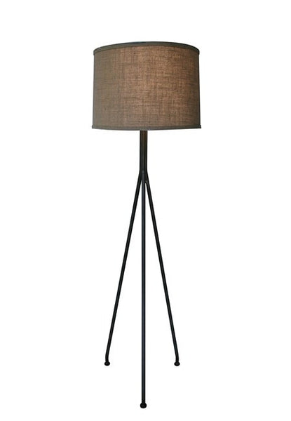 Noir Tripod Floor Lamp