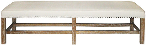 Sweden Bench Grey Wash