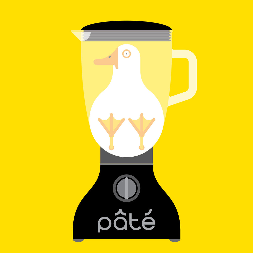 Introducing - Pâté on Toast by Paul Pateman