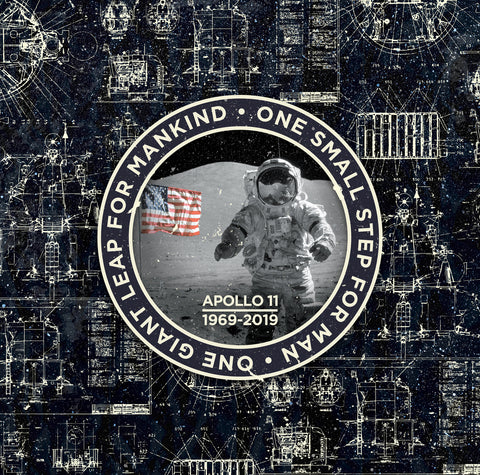 Apollo 11 - Patch Dark