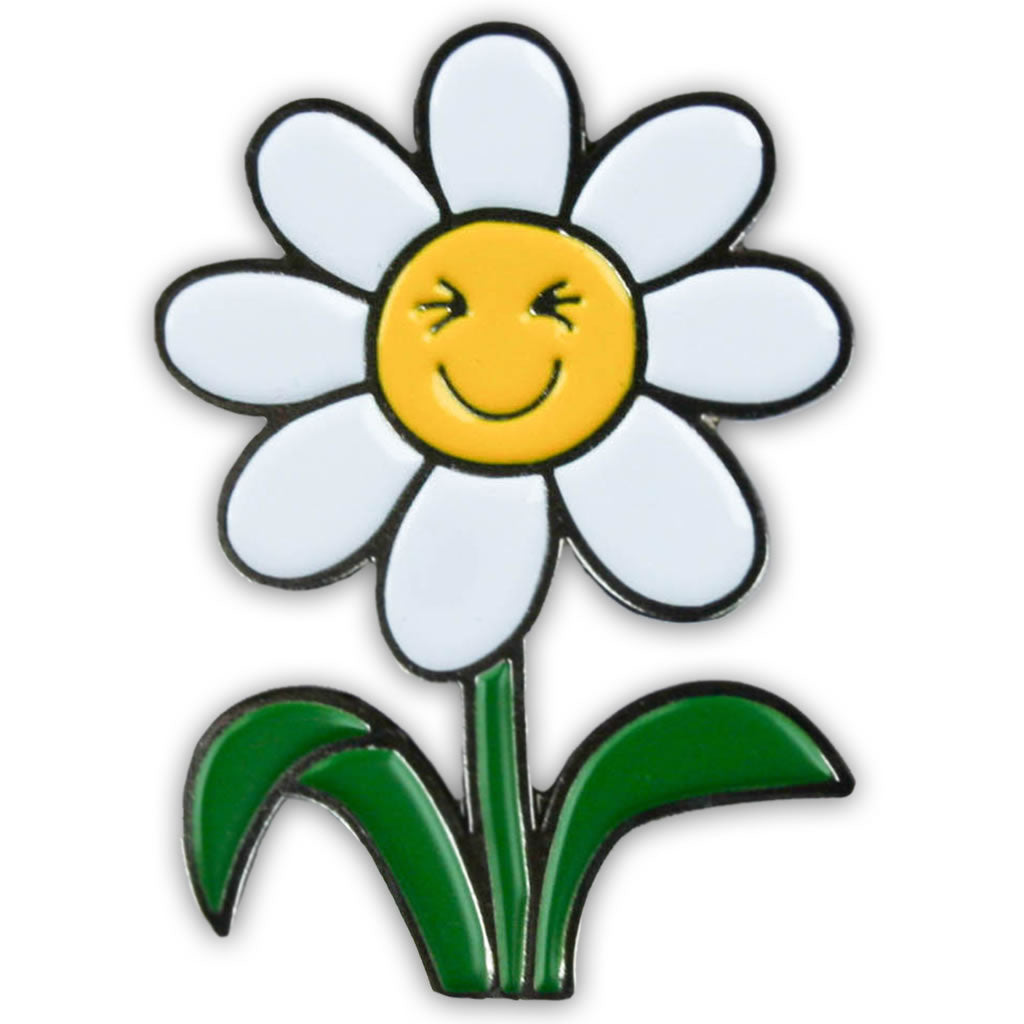 RMRM001PIN: Mr Men Laughing Daisies Enamel Pin