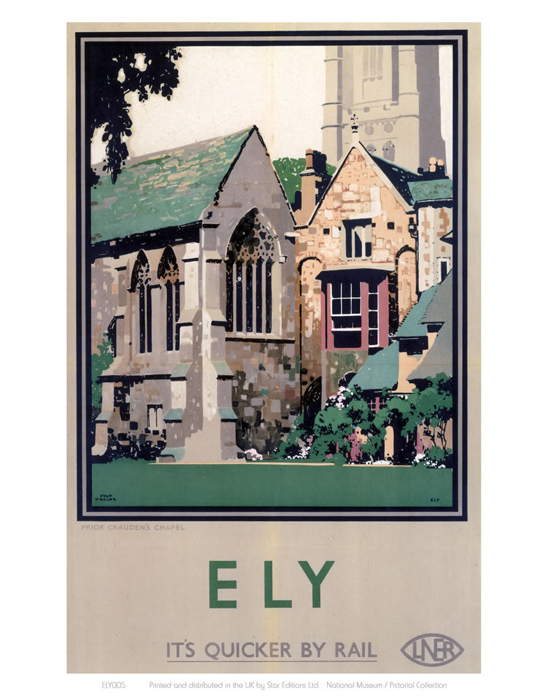 "Ely Close up of Cathedral 24"" x 32"" Matte Mounted Print"