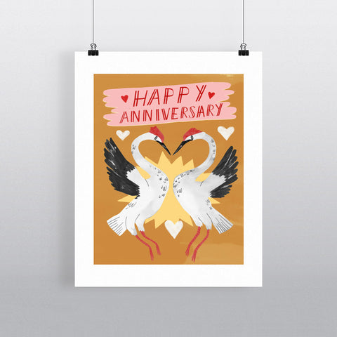 Happy Annivrsary 11x14 Print