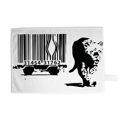 Barcode Tea Towel