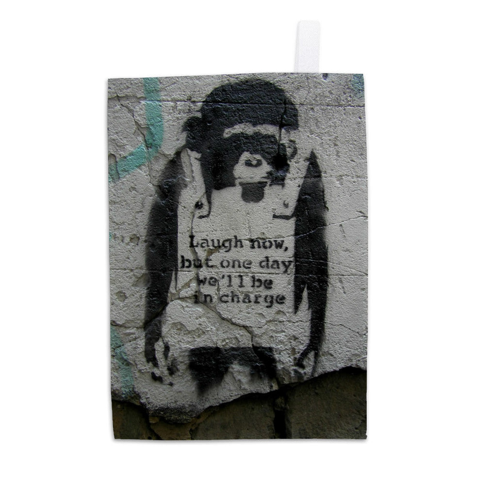 Laugh Now Tea Towel