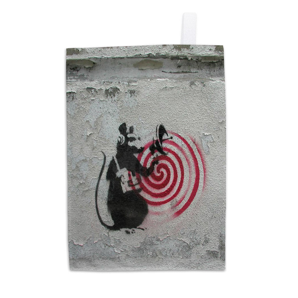 Rat radar Tea Towel
