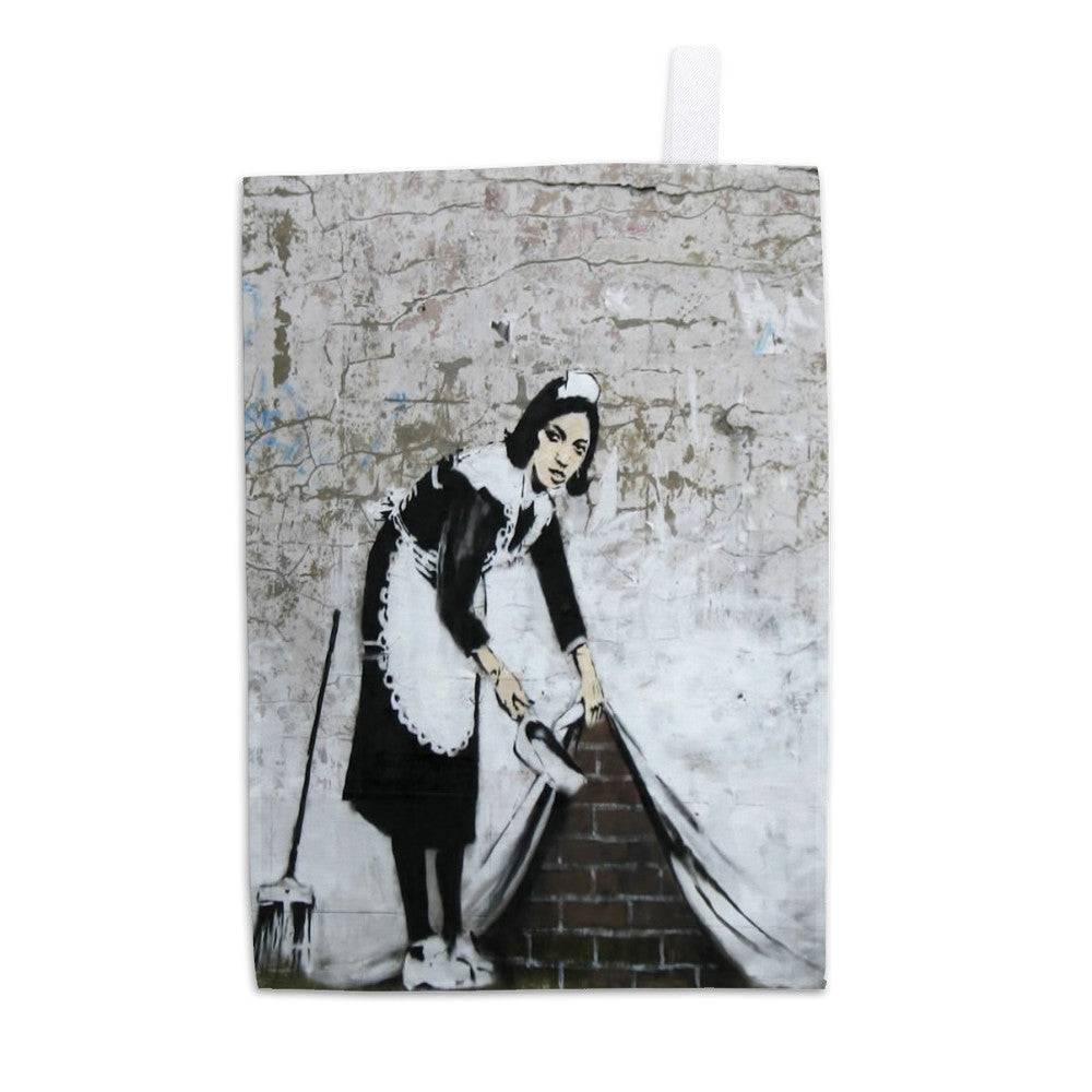 Chamber Maid Tea Towel