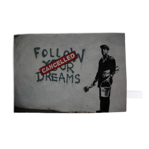 Follow your dreams Tea Towel
