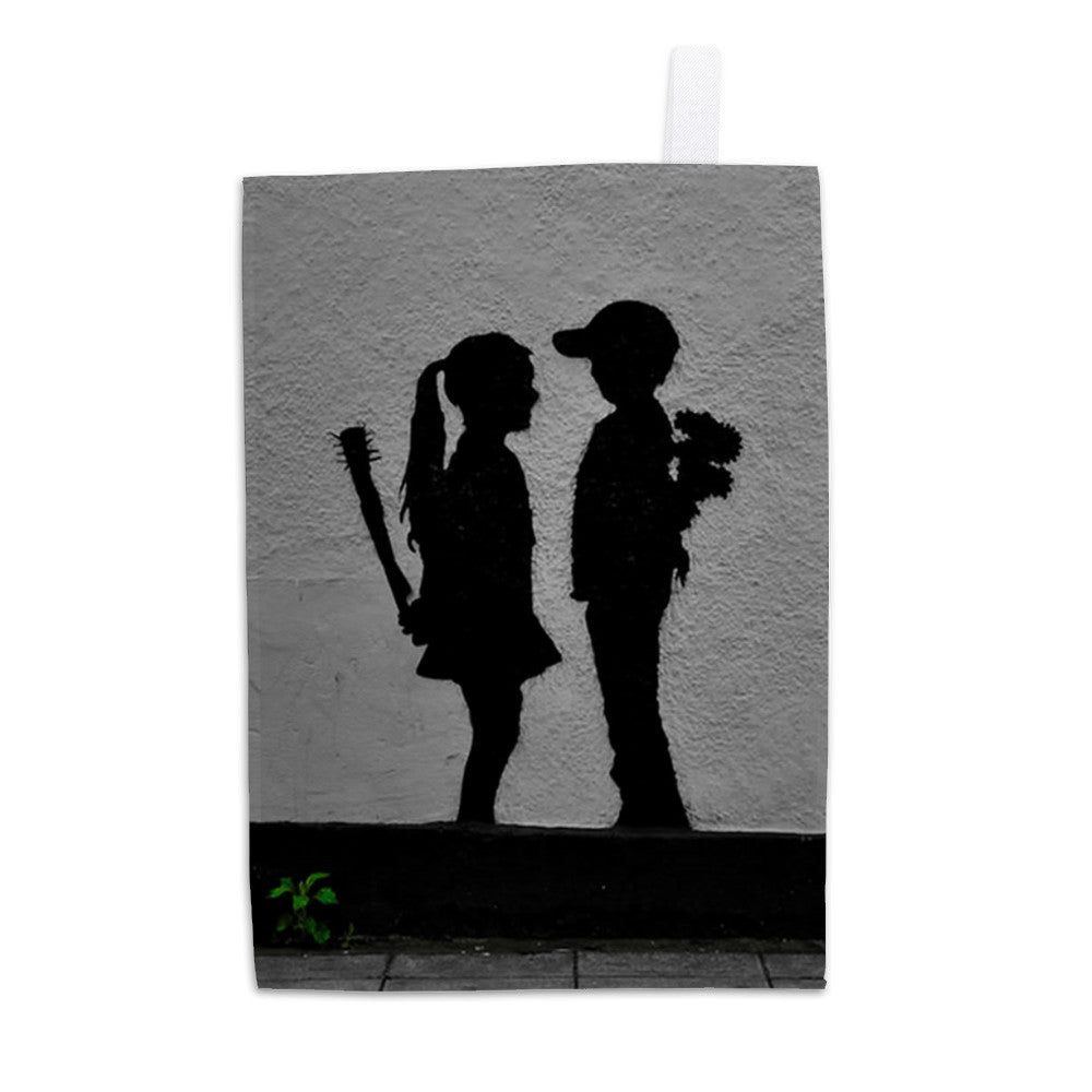 War Children Tea Towel