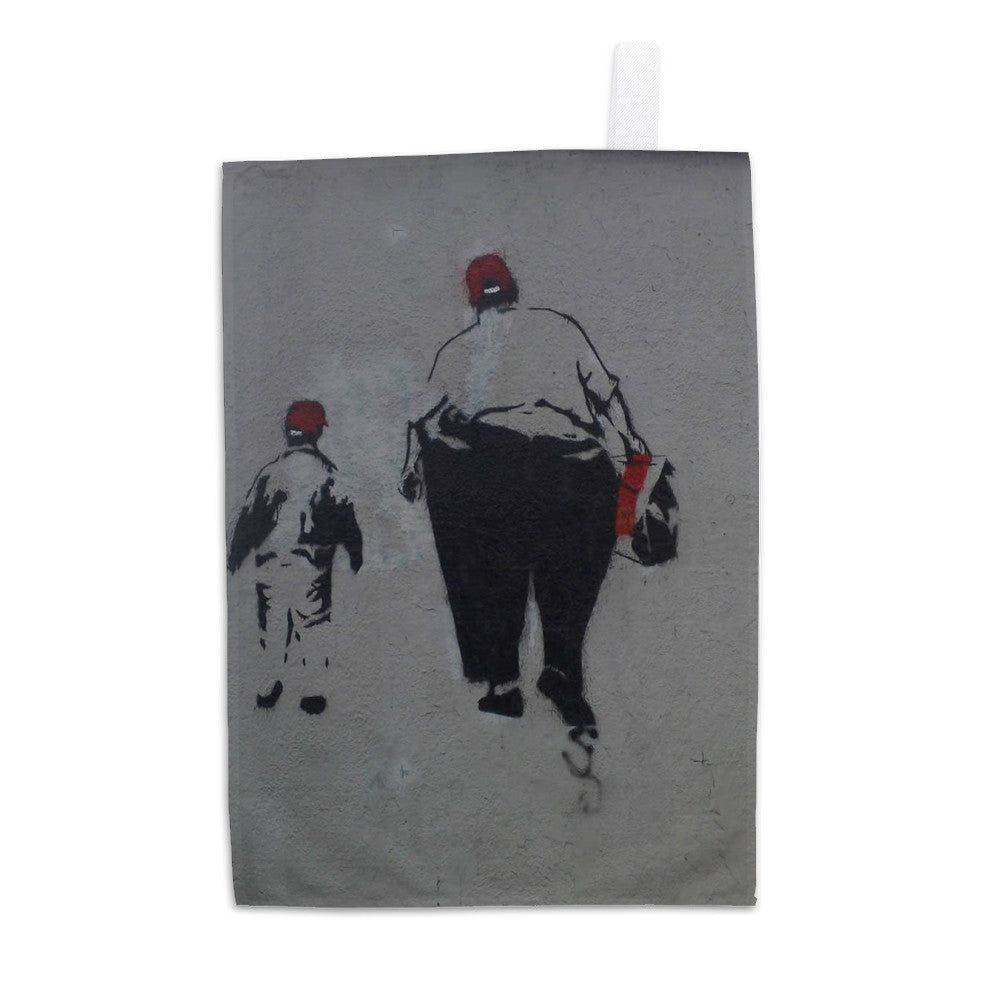 Little and Large Tea Towel