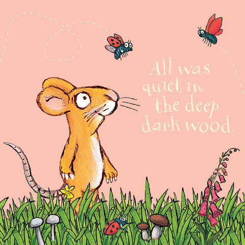 GRUFF007 - The Gruffalo - All Was Quiet, Mouse