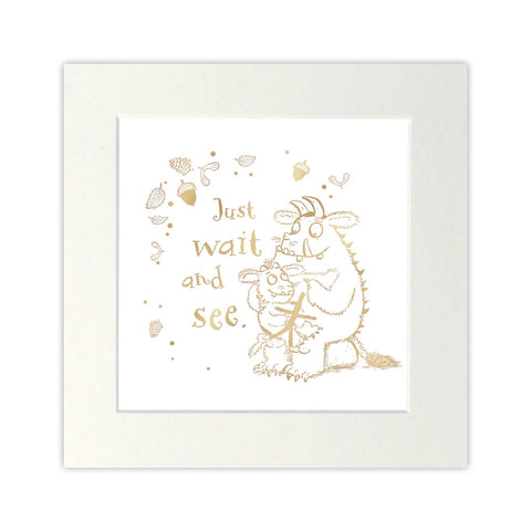 The Gruffalo's Child Gold Foil Print