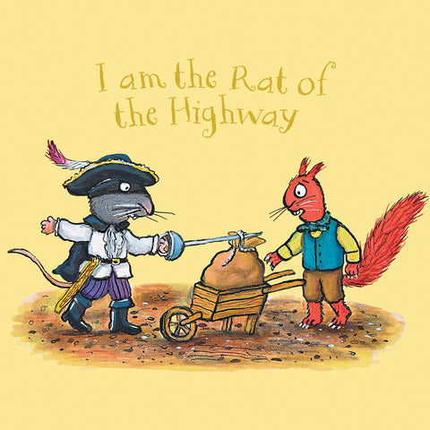HR003 - The Highway Rat - I am the Rat of the Highway