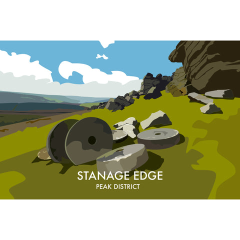 LHOPMI001: Stanage Edge Peak District. T Shirt