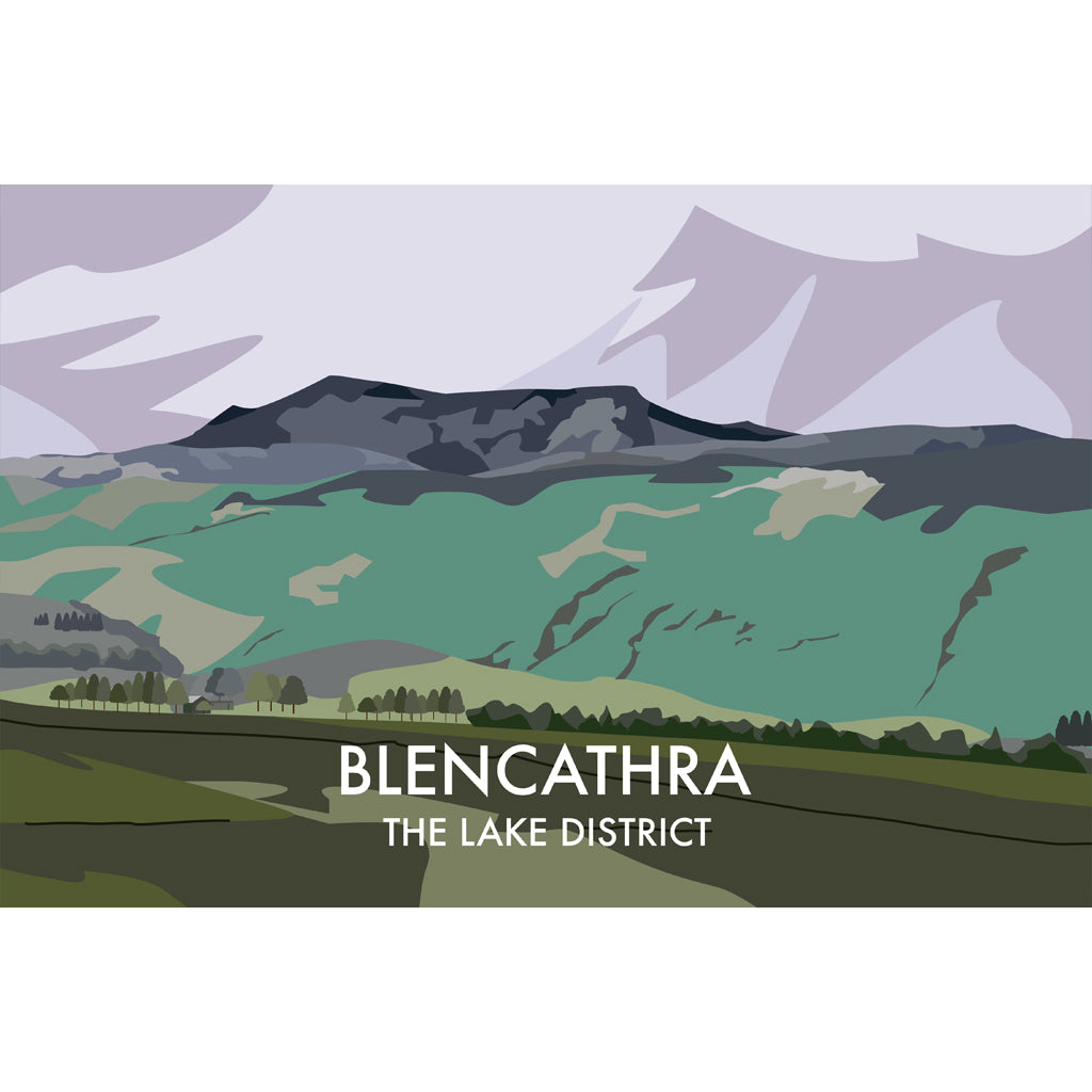 LHOPNW002: Blencathra The Lake District. T Shirt