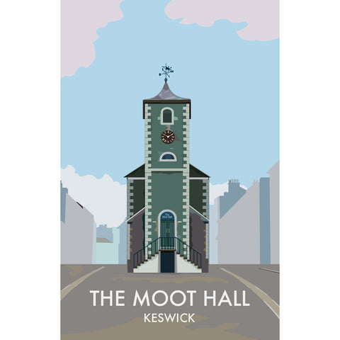 LHOPNW015: The Moot Hall Keswick. T Shirt