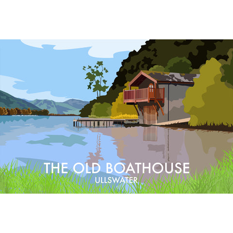 LHOPNW022: The Old Boathouse Ullswater. T Shirt