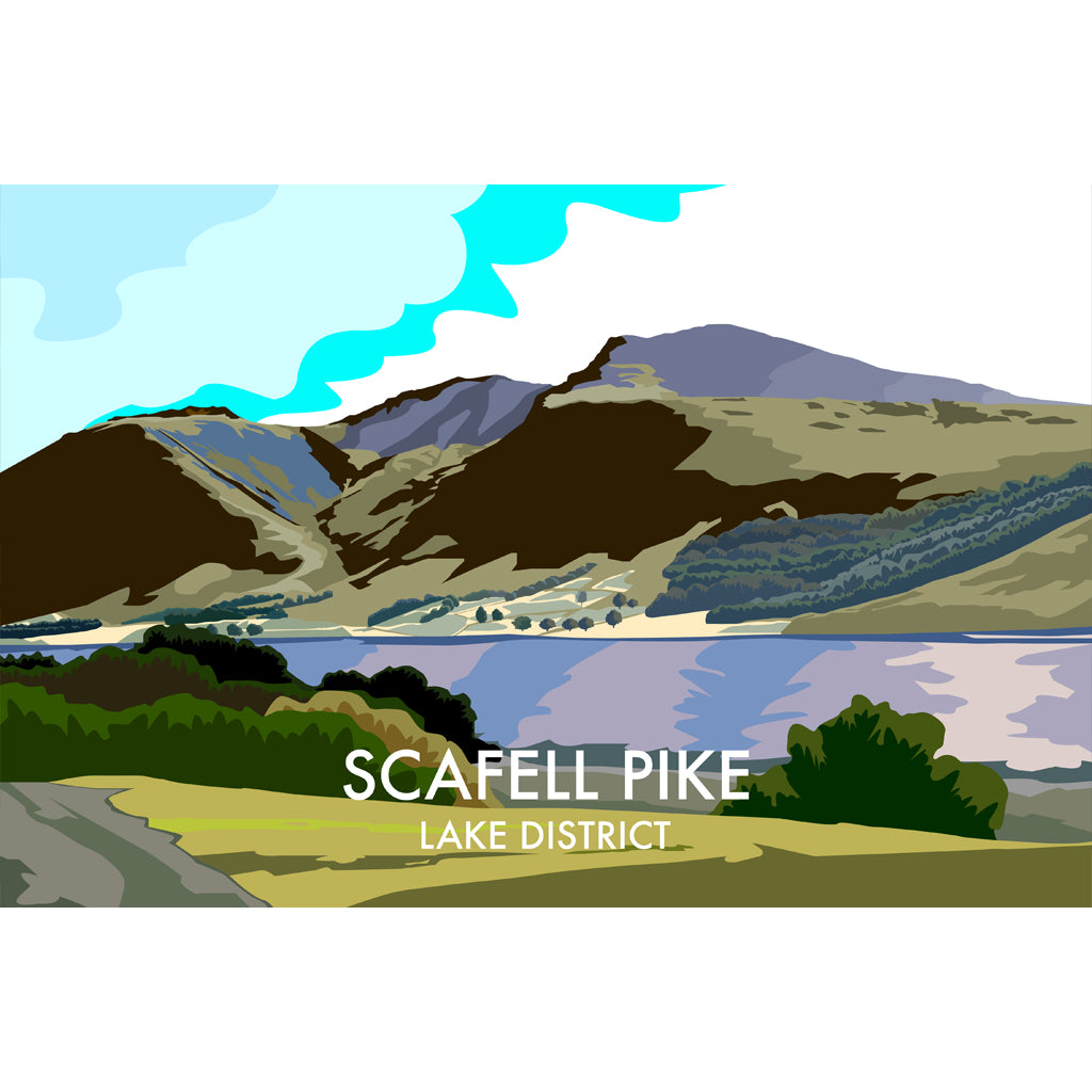 LHOPNW033: Scafell Pike Lake District