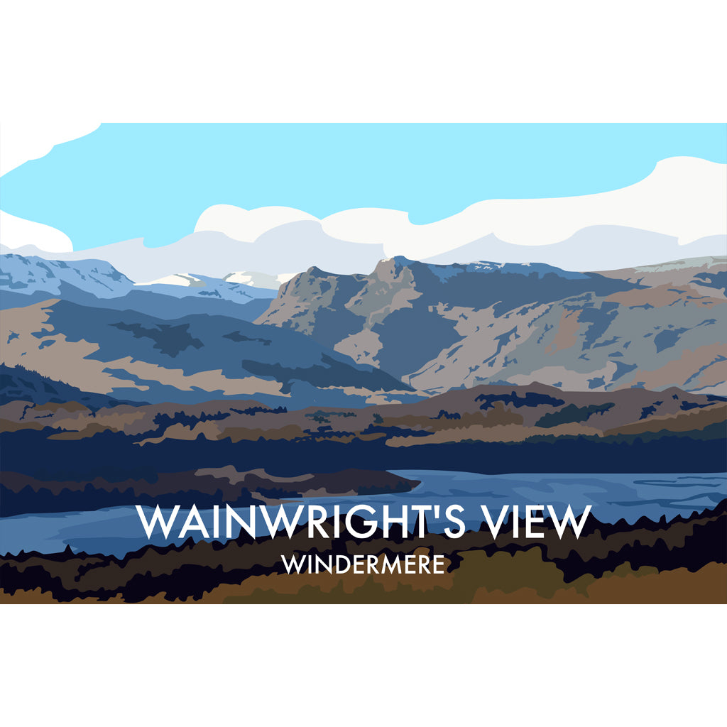 LHOPNW039: Wainwright's View Windermere