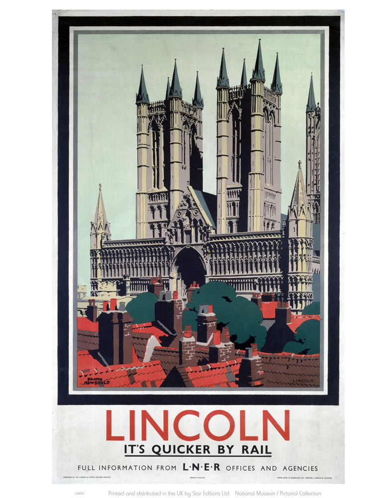 "Lincoln 24"" x 32"" Matte Mounted Print"