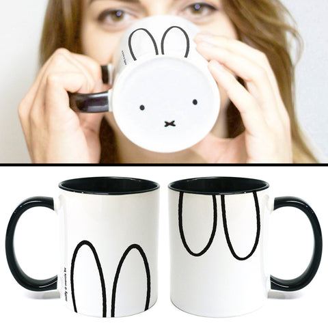 MIFFY043: Miffy Face Mug Coloured Insert Mug