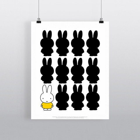MIFFY047: Miffy Silhouette