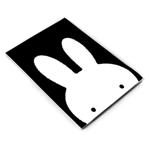 MIFFY049: Miffy Face Black and White A5 Notepad