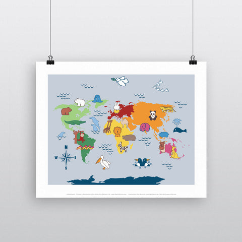 MIFFY051: Miffy Animals Map