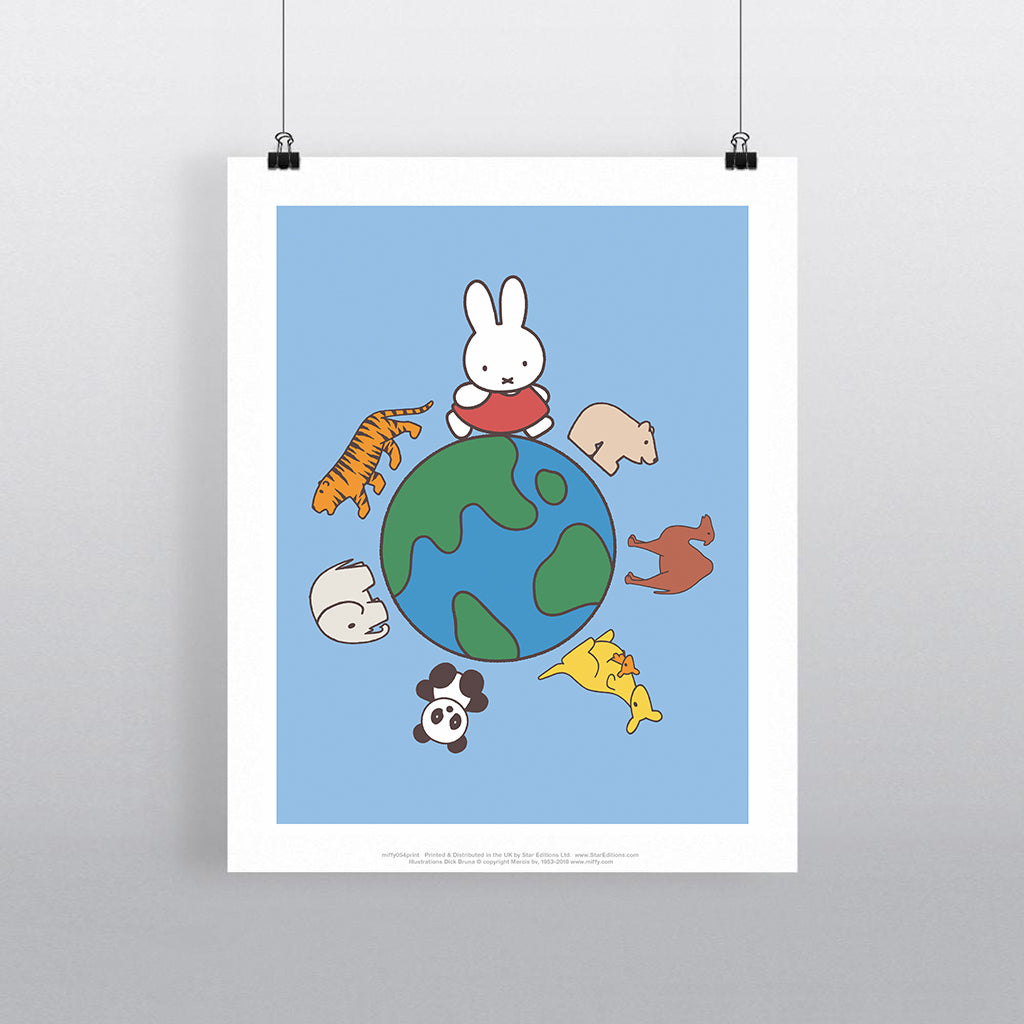 MIFFY054: Miffy Animals Globe