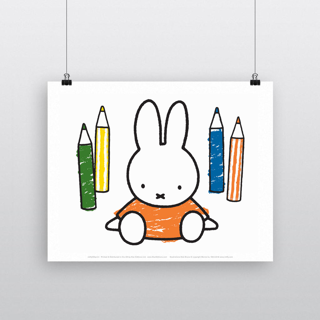 MIFFY055: Miffy Colouring Pencils