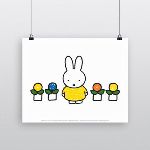 MIFFY057: Miffy Yellow Dress
