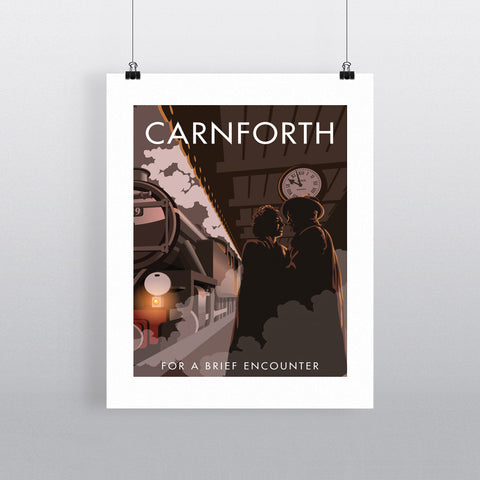 Carnforth 20cm x 20cm Mini Mounted Print