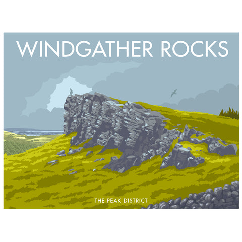 MILPD001: Windgather Rocks, The Peak District