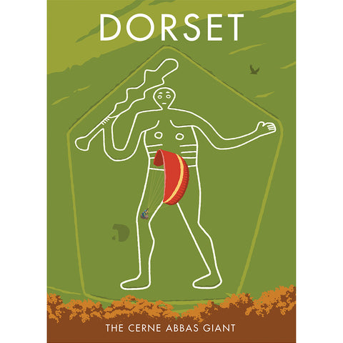 MILSW002: The Cerne Abbas Giant, Dorset