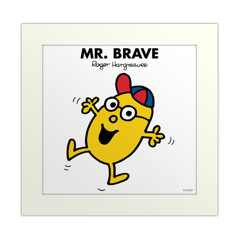 An image Of Mr Brave