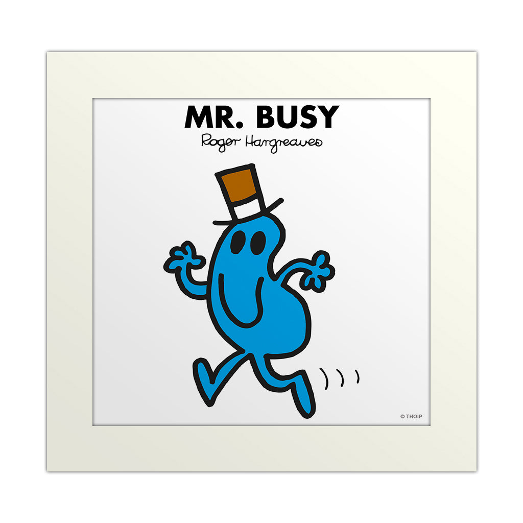 An image Of Mr Busy