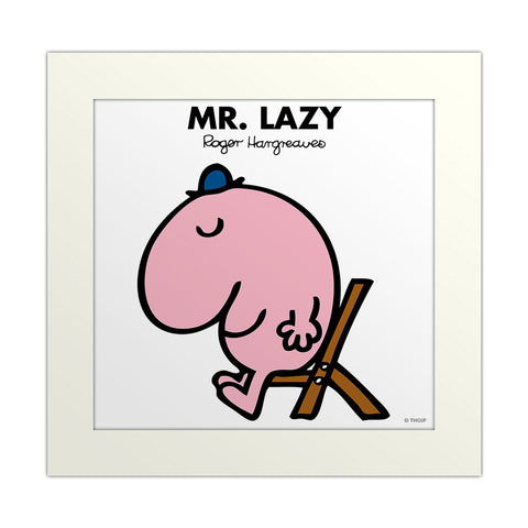 An image Of Mr Lazy