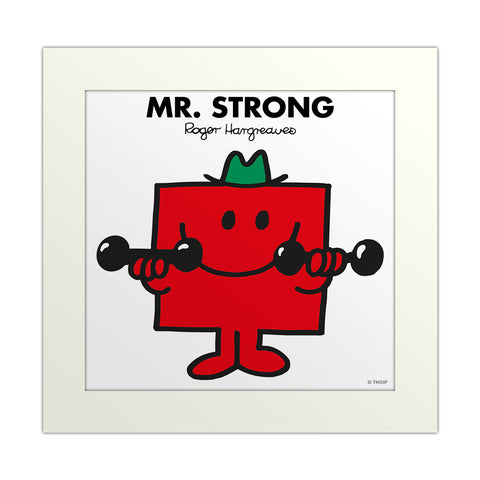 An image Of Mr Strong